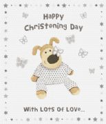Boofle Happy Christening Day Card